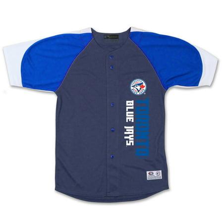 Toronto Blue Jays Stitches Youth Vertical Jersey - Navy/Royal
