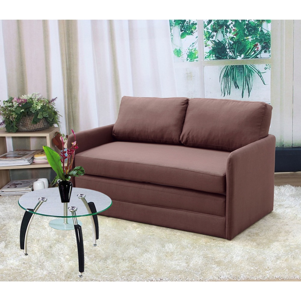 Us Pride Furniture Kathy Reversible 5 1 Inches Foam Fabric Loveseat And Sofa Bed Com
