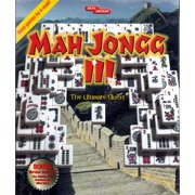 Damaged Box Special - Mahjongg III Ultimate Quest PC CD - The Classic Chinese Strategy Game with a Twist