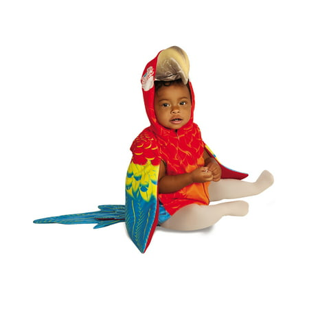 Parrot Infant Toddler Colorful Exotic Bird Animal Halloween Costume - Bird Person Halloween