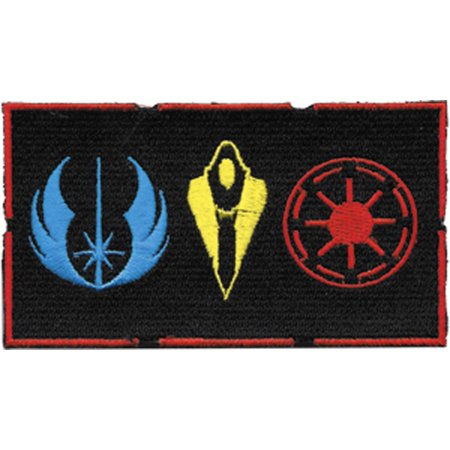 Star Wars Iron On Transfers - Patch - Star Wars - Symbols Logo Iron On Licensed Gifts Toys p-sw-0040