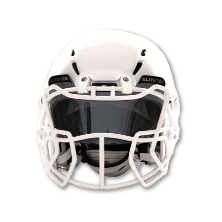 EliteTek Football Eye-shield Visor (Smoke Tinted) ()