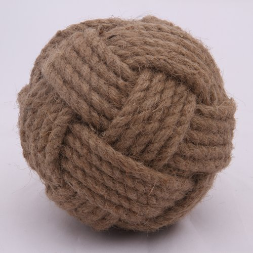 Mills Floral Company Jute Knot Decorative Ball (Set of 2)