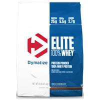Dymatize Elite 100% Whey Protein Powder, Rich Chocolate, 25g Protein/Serving, 10 Lb