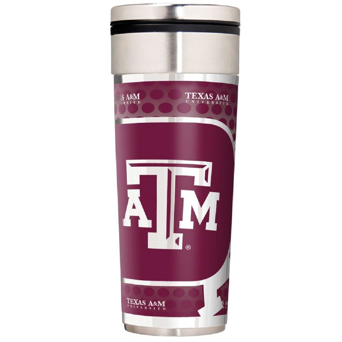 Texas A&M Aggies 22 oz. Stainless Steel Big Slim Travel Tumbler