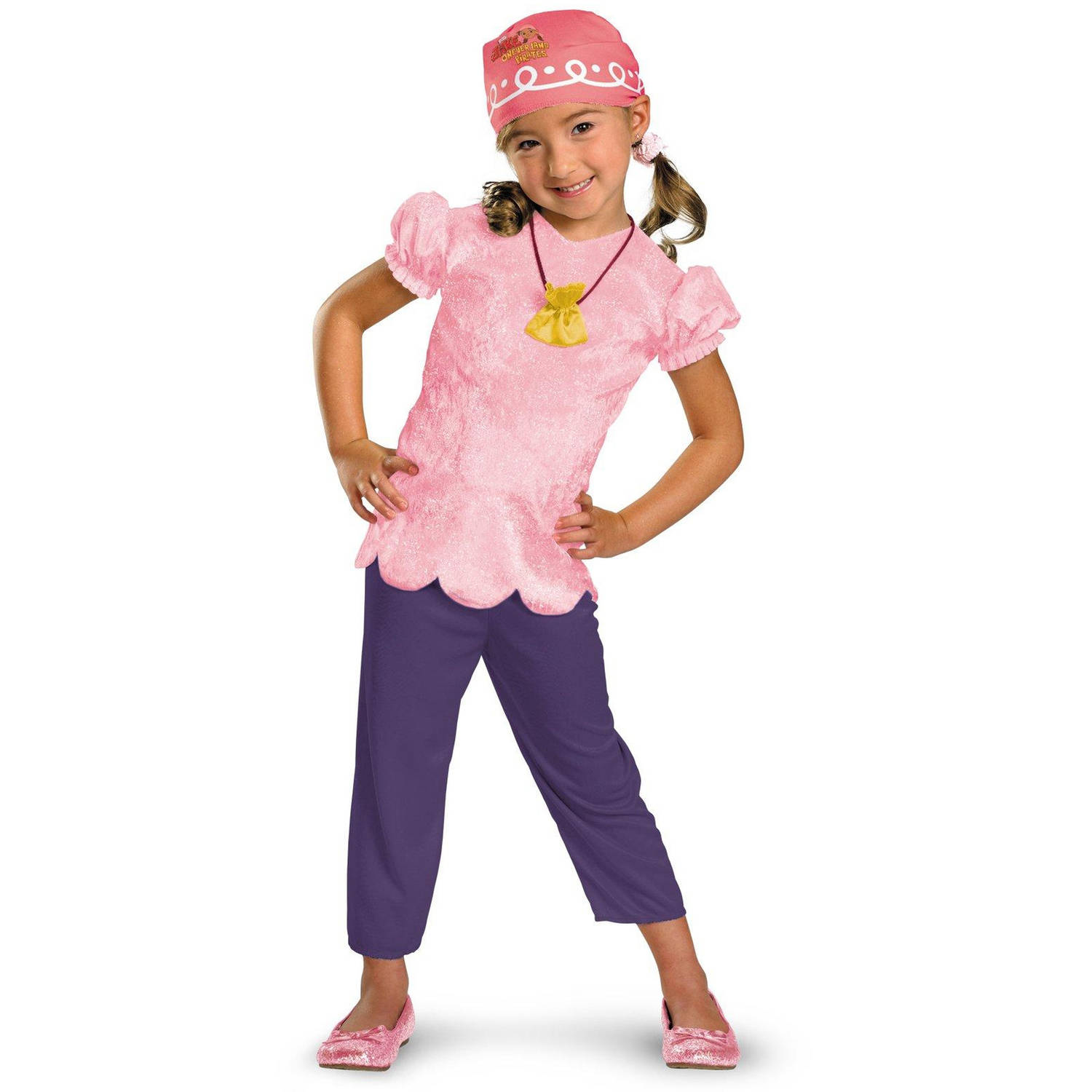 Disney Jake and the Never Land Pirates Izzy Classic Child Halloween Costume, Small (4-6)