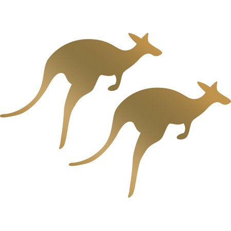 Couture Creations Hotfoil Mini Stamps-Kangaroos - image 1 of 1