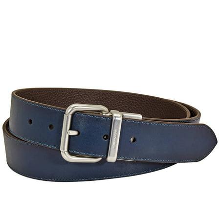 Coach Denim Buckle Cut-to-size Reversible Belt