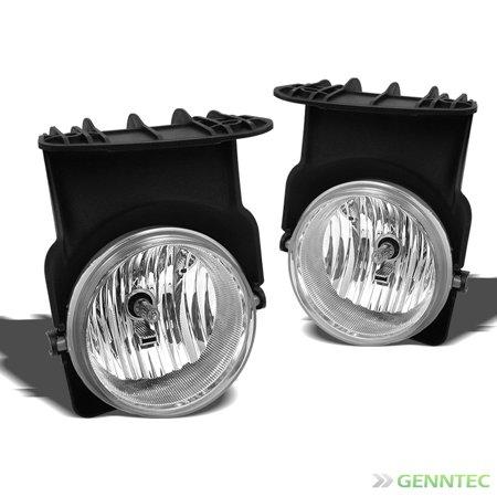 2003 2006 gmc sierra clear bumper fog lights lamps bulbs. Black Bedroom Furniture Sets. Home Design Ideas