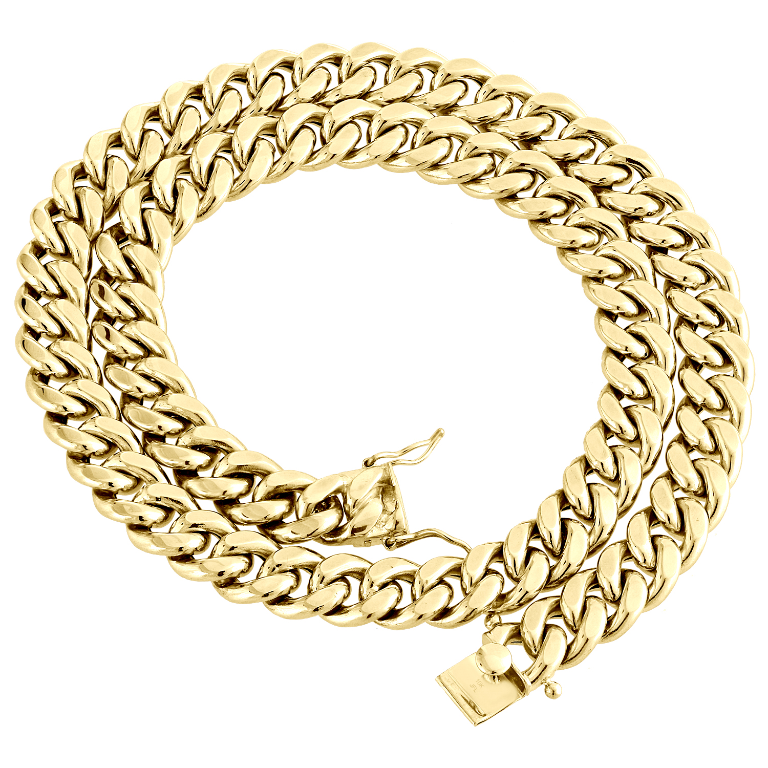 Details about  /10K Hollow Gold Cuban Chain 26 Inches 2mm 2.1 Grams