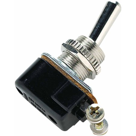 Seachoice 2-Position Heavy Duty Toggle Switch with 2 Screw Terminals Off/On