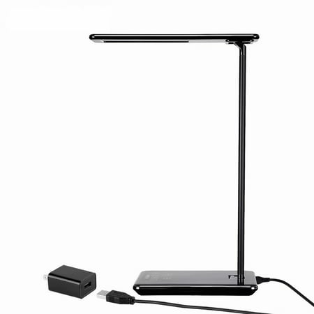 TORCHSTAR Dimmable LED Desk Lamp, 4 Lighting Modes (Reading/Studying/Relaxation/Bedtime), Fully Adjustable Brightness, Touch Sensitive Control, USB Charging Port, 1 & 2 Hour Auto Timer, Piano (Best Lighting Ever Led Lamps)