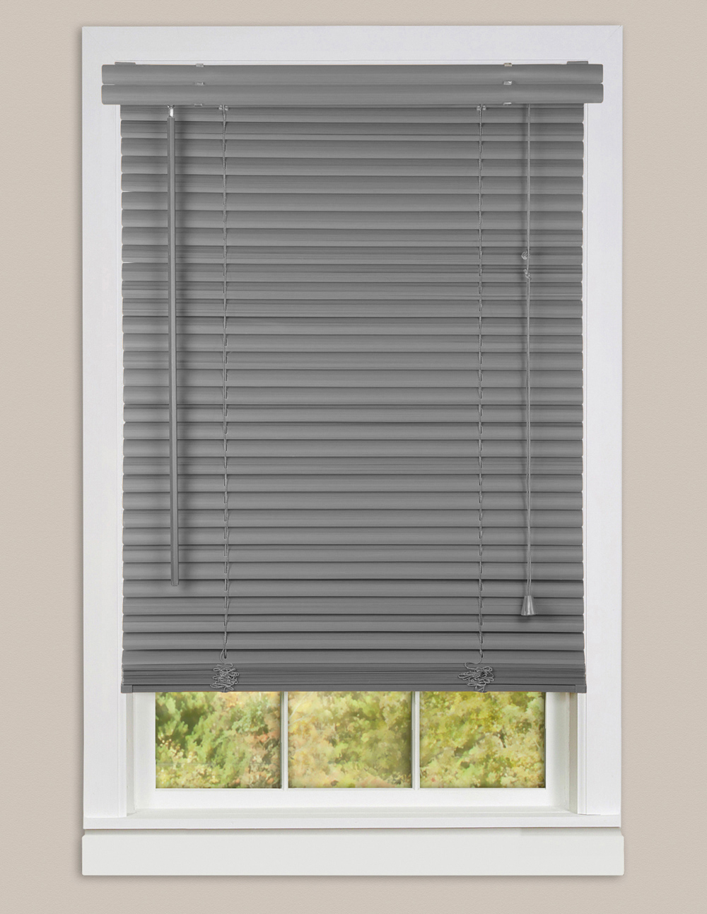 Window Blinds Mini Blinds 1 Slats White Venetian Vinyl Venetian Blind Available In Black Brown Beige Gray White Woodtone Walmart Com Walmart Com