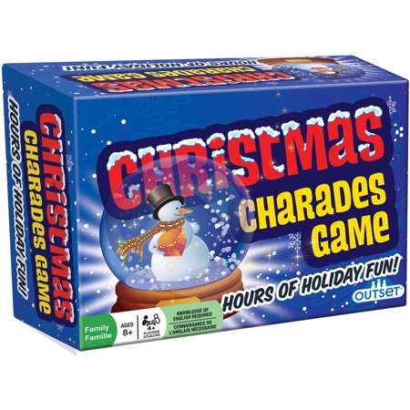 Outset Media Christmas Charades - Christmas Game