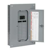 Square D QO124M100PC 100A Main Breaker Installed Load Center