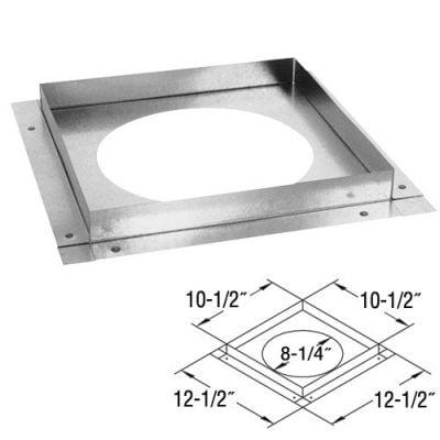 Galvanized Ceiling Firestop - 5