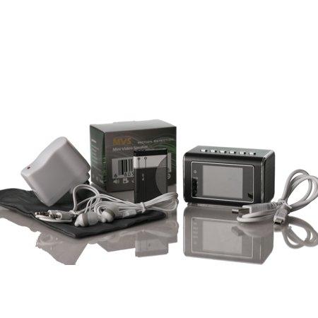 No Software Required Portable Versatile Clock Camera Audio Video Recorder ()