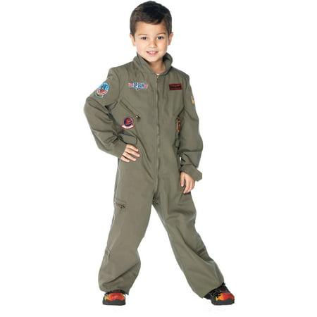Leg Avenue Top Gun Flight Suit Boys - Top Gun Flight Suit Costume
