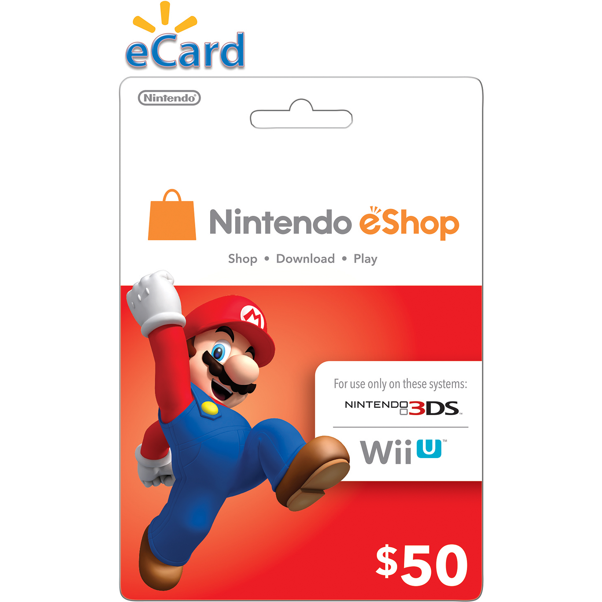 Nintendo eShop $50 (Digital Download)