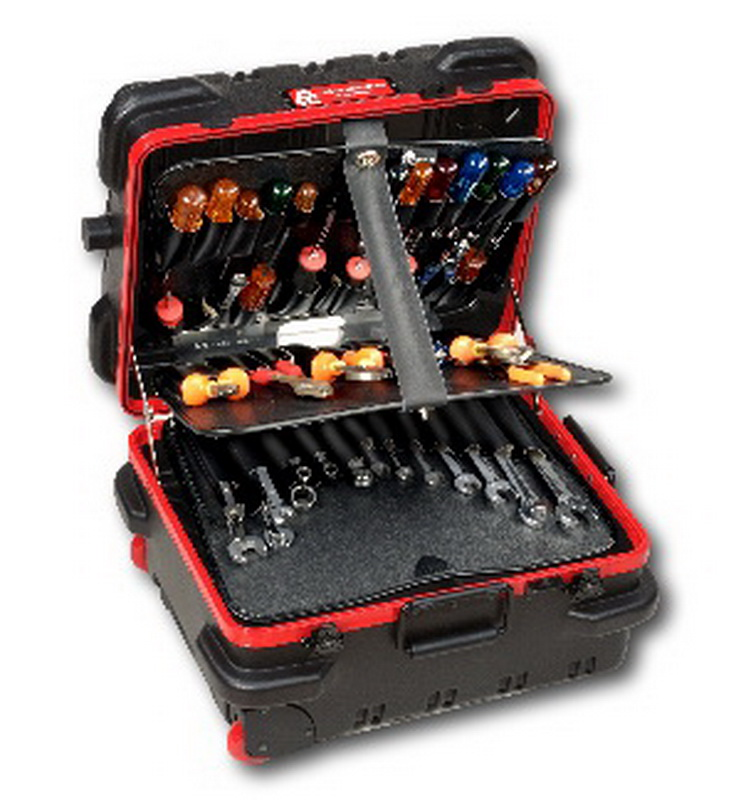"Chicago Case 95-8580 RMMST9CARTMH ""Military-Ready"" 30th Anniversary Mechanical Hinged Tool Case"