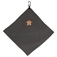 "Houston Astros 15"" x 15"" Microfiber Golf Towel - No Size"