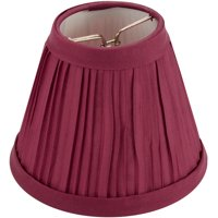 "Darice Pleated Cloth 4"" Ivory Lampshade, 1 Each"