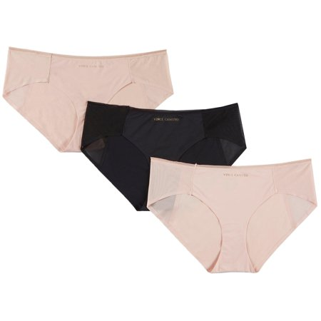 Vince Camuto 3-pk. Laser Cut Mesh Hipster Panties VCO72282
