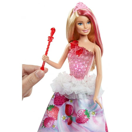 Barbie Dreamtopia Sweetville Blonde Princess Doll with Lights & Sounds ()