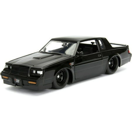 Jada Toys Fast & Furious 1987 Buick Grand National Die-Cast Vehicle 1:24 Scale Glossy Black
