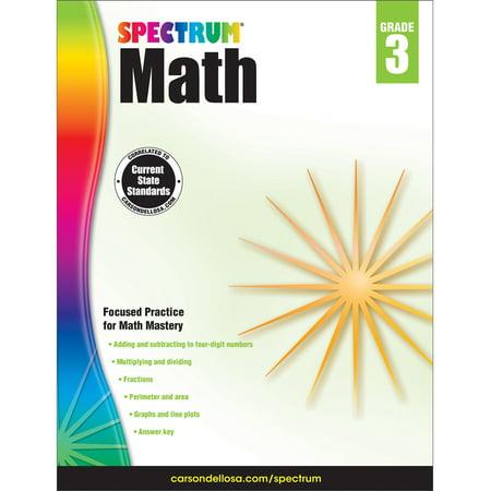 Sinclair Spectrum Game - Spectrum Math Workbook Grade 3
