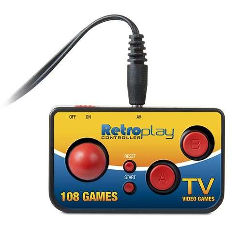 dreamGEAR My Arcade Retroplay Plug 'n Play Controller with 108 Games (Universal)
