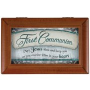 Carson Home Accents First Communion Music Decorative Box
