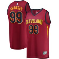 Jae Crowder Cleveland Cavaliers Fanatics Branded Youth Fast Break Replica Jersey Maroon - Icon Edition