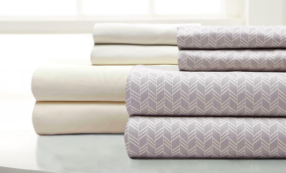 8 piece sheet set Fletch (Arrow) Oatmeal Cal King thumbnail
