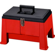 """Stack-On 20"""" Step 'N Stor Tool Box, Red"""