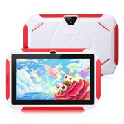 """Kids Tablet, Excelvan Q98 Tablets Android 9.0 7"""" Display 1G RAM 16 GB ROM Light Weight Portable Kid-Proof Shock-Proof Silicone Case Kickstand Available With IWawa For Kids Education Entertainment"""