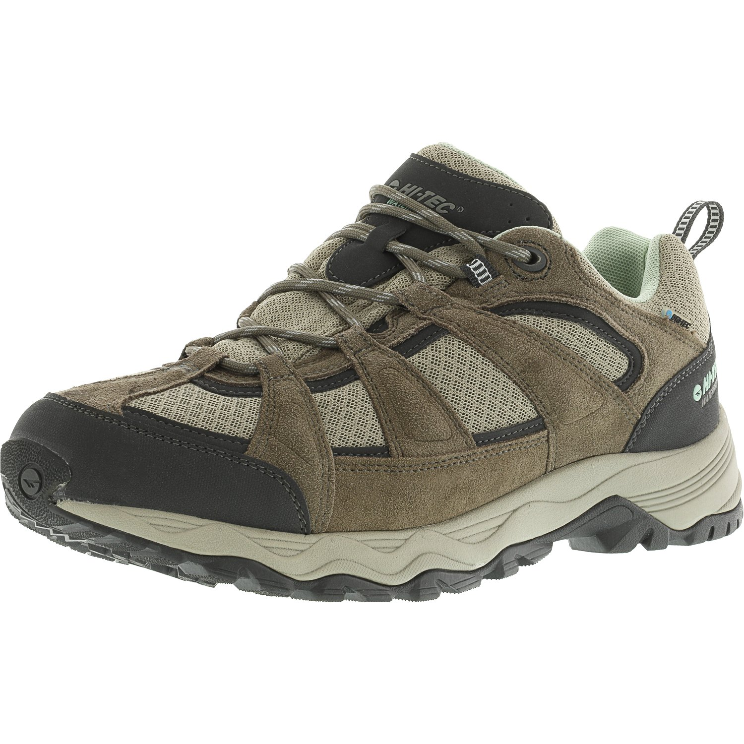 Hi-Tec Women's Perpetua Low Waterproof Taupe Ankle-High Hiking Shoe 8M by Hi-Tec