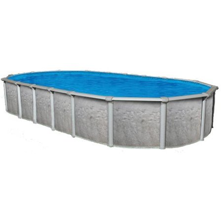 Oval Poles (12 x 17 ft. Oval Sharkline Heritage 54 in. Above Ground Swimming Pool)