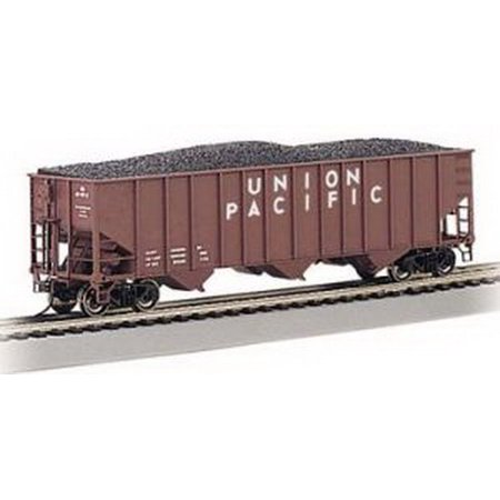 Bachmann 18702 HO Union Pacific Bethlehem Steel 3-Bay 100-Ton Open Hopper (Union Pacific 3 Bay)