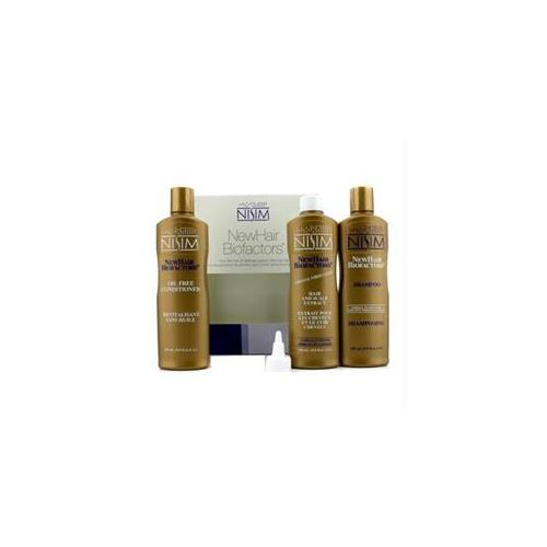Nisim 15143827114 Normal to Oily Tripack : Shampoo 240ml + Oil Free Conditioner 240ml + Hair and Scalp Extract 240ml - 3