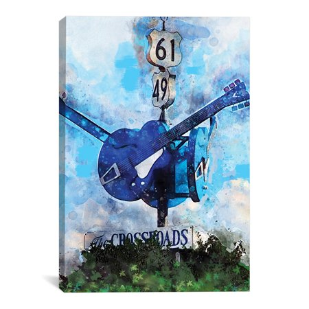"Crossroads Artwork | Choose from Canvas or Art Print | Living Room, Bedroom, Office, Bathroom Wall Decor Art Ready to Hang Para El Hogar Decoracion | 48"" x 32"" - Decoracion Para Halloween De Papel"