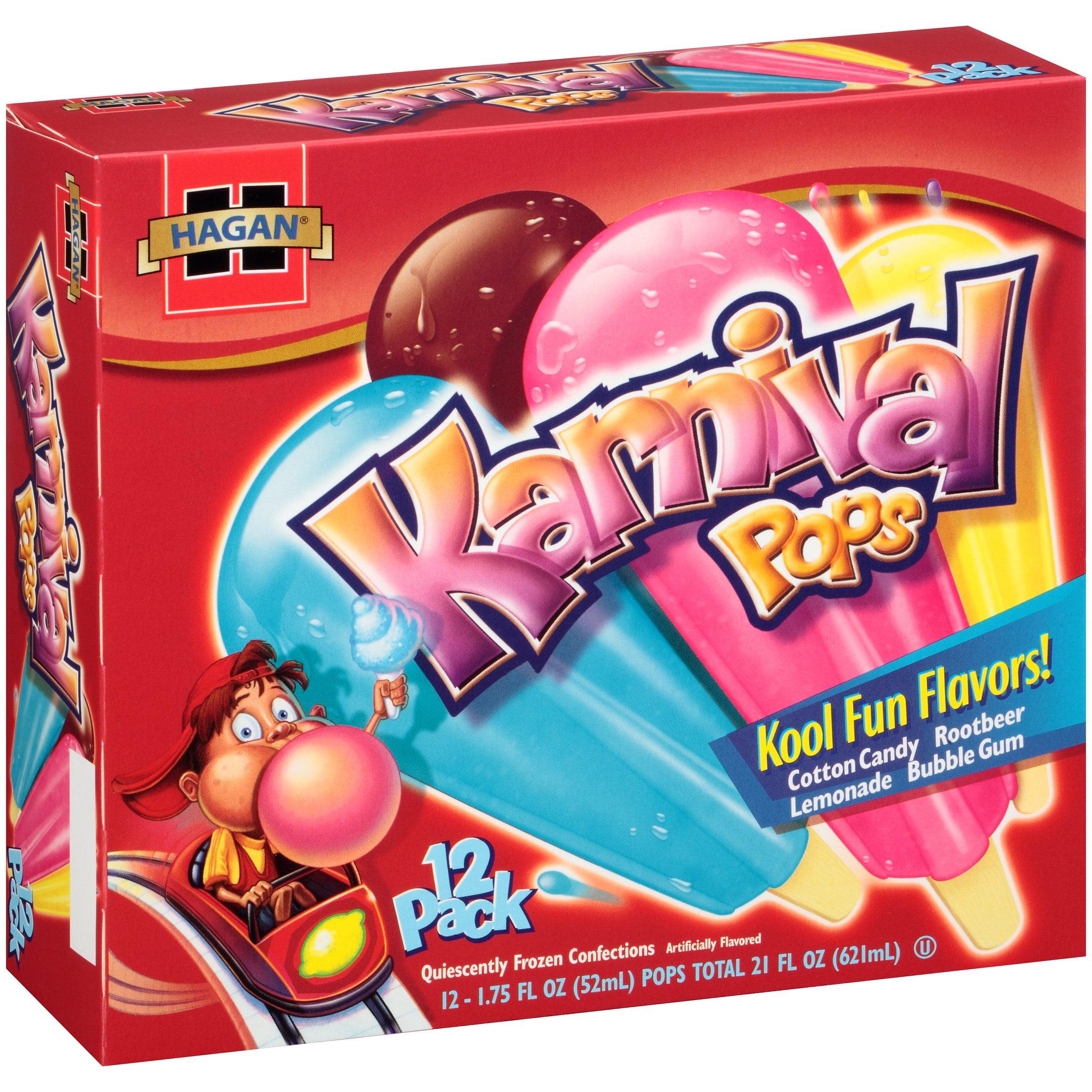 Hagan® Karnival Pops 21 fl. oz. Box