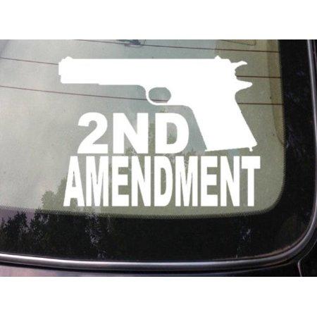 SECOND AMENDMENT 45 ACP 1911 STICKER 6