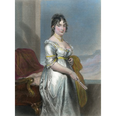 Dolley Payne Todd Madison N 1768 1849  Wife Of President James Madison Engraving After Alonzo Chappel 1872 Poster Print By Granger Collection
