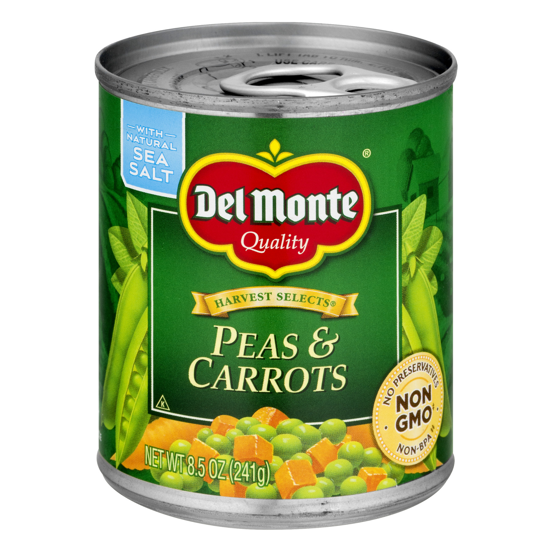 Del Monte Harvest Selects Peas & Carrots, 8.5 Oz