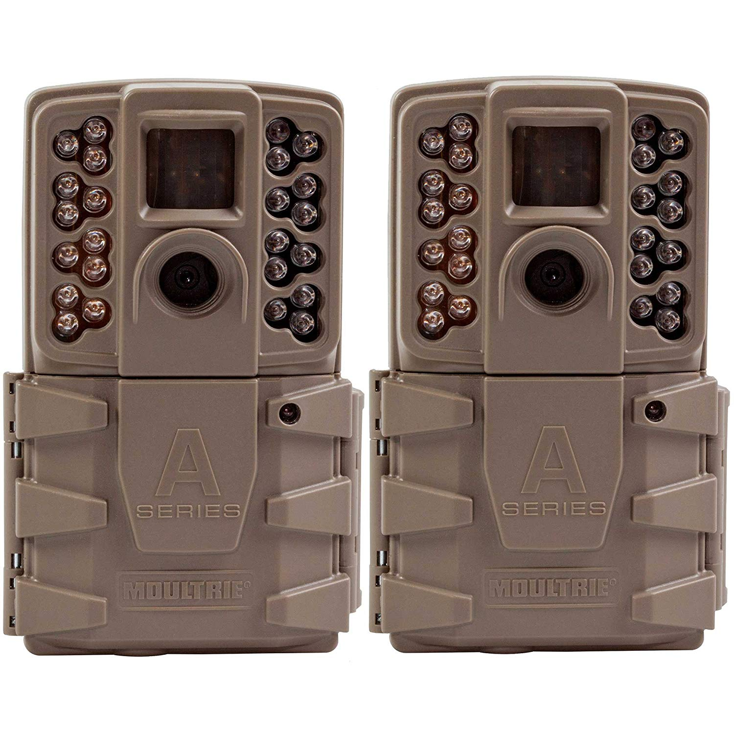 Moultrie A-30 12MP Game Trail Camera (2 Pack) | MCG-13201