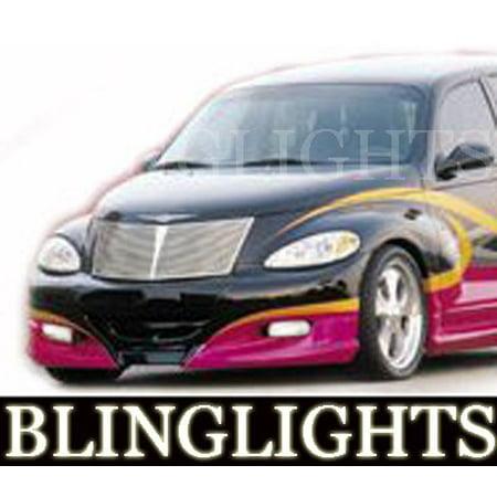 New Chrysler PT Cruiser Xenon Crusher Body Kit Bumper Fog Lamps Driving Lights Foglamps -