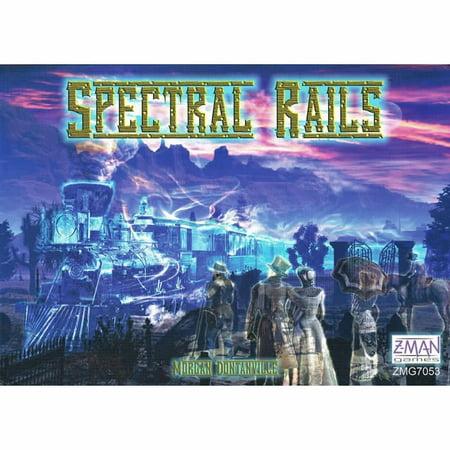 Spectral Rails Board Game Z-Man covid 19 (Rails Board Game coronavirus)