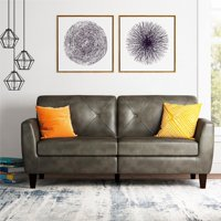 Dorel Living Clement Small Spaces Sofa Dark Taupe