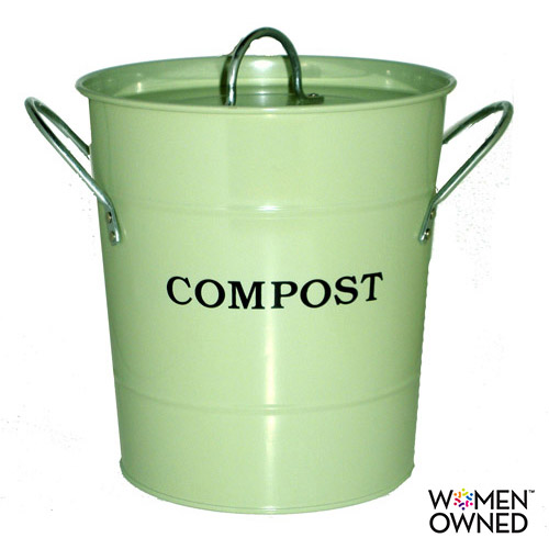 Exaco 2-in-1 Kitchen Compost Bucket with Lid